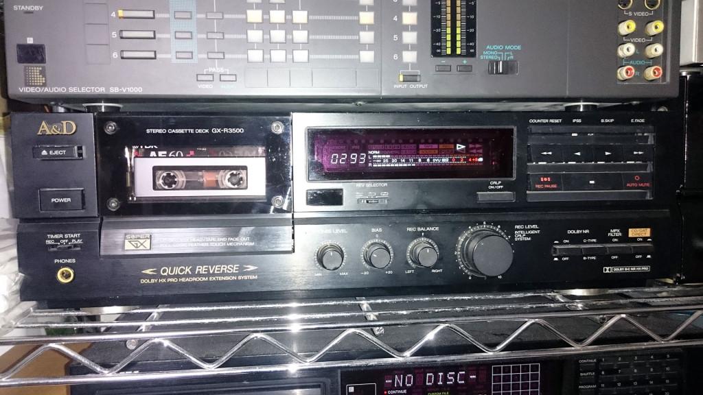 A&D GX-R3500