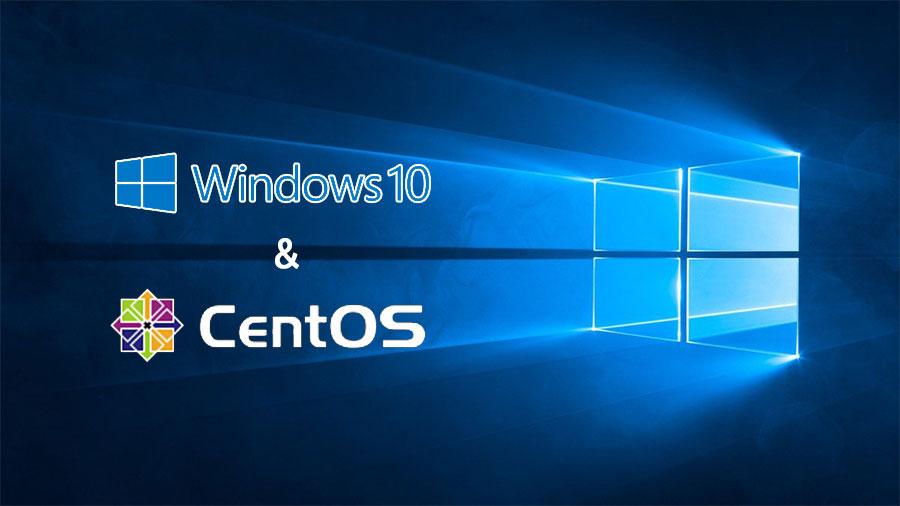Windows10とCentOS7のデュアルブート