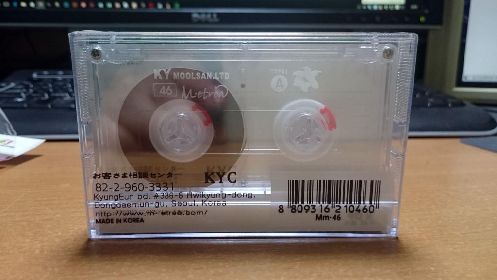 コメス カセットテープ