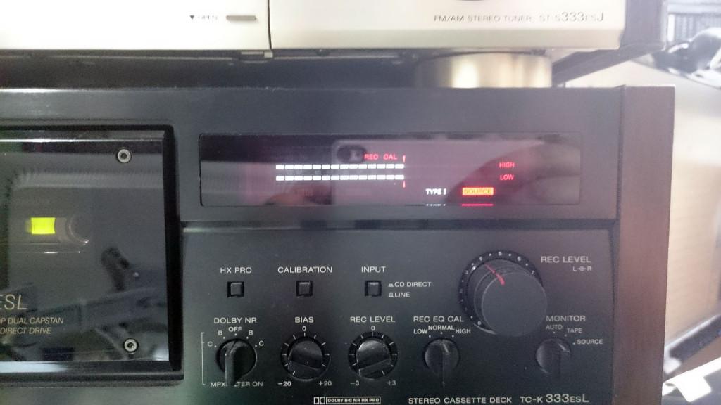 コメス カセットテープ キャリブレーション後