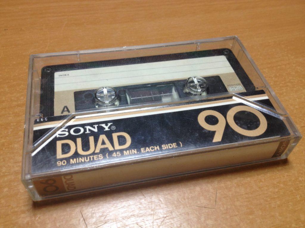 SONY DUAD Fe-Cr フェリクローム カセットテープ